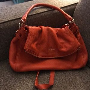Orange Kate spade handbag